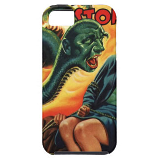 Capa Tough Para iPhone 5 Homem do cobra