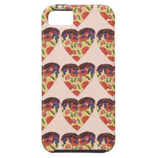 Capa Tough Para iPhone 5 i love pizza