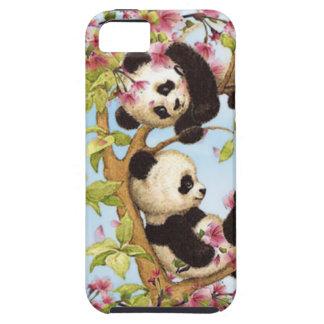 Capa Tough Para iPhone 5 IMG_7386.PNG bonito e panda colorida projetada