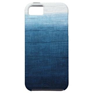 Capa Tough Para iPhone 5 Índigo minimalista da aproximação 2