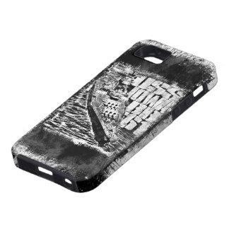 Capa Tough Para iPhone 5 iPhone de Iowa da navio de guerra/caso do iPad