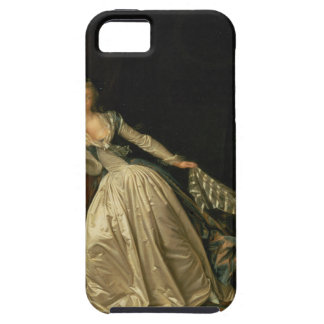 Capa Tough Para iPhone 5 Jean-Honore Fragonard - o beijo roubado - belas