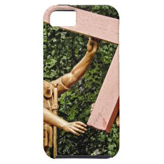 Capa Tough Para iPhone 5 Jesus leva a cruz