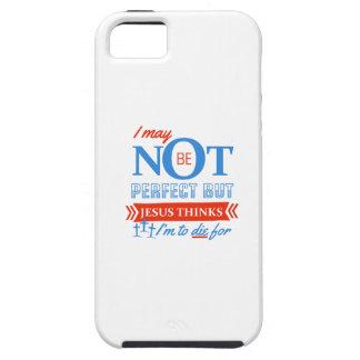 Capa Tough Para iPhone 5 Jesus pensa que eu devo morrer para