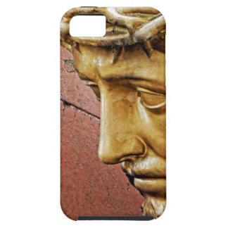 Capa Tough Para iPhone 5 Jesus que leva a cruz