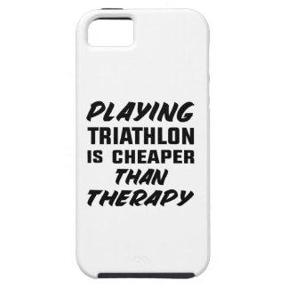 Capa Tough Para iPhone 5 Jogar o Triathlon é mais barato do que a terapia