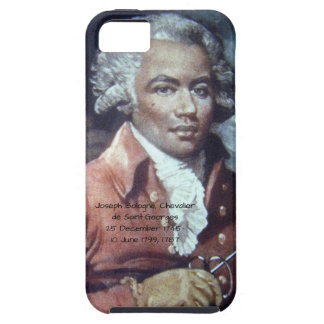 Capa Tough Para iPhone 5 Joseph Bologne, Cavaleiro de Santo-Georges