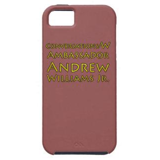 Capa Tough Para iPhone 5 Jr. das conversações w/Ambassador Andrew Williams