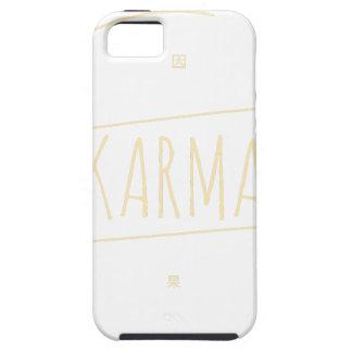 Capa Tough Para iPhone 5 Karmas (para o fundo escuro)