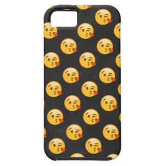 Capa Tough Para iPhone 5 Kissy enfrenta Emojis