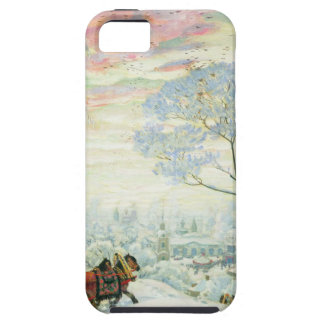 Capa Tough Para iPhone 5 _Kustodiev do inverno.