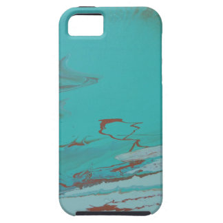 Capa Tough Para iPhone 5 Lagoa de cobre