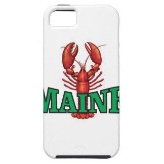 Capa Tough Para iPhone 5 lagosta verde de Maine
