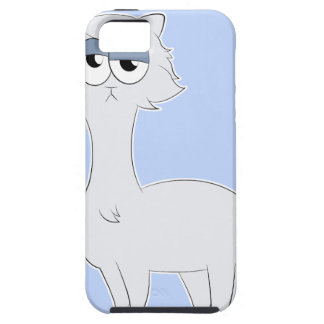 Capa Tough Para iPhone 5 Lama mal-humorado do gato persa