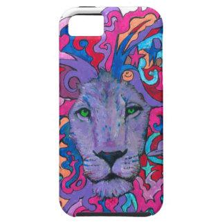 Capa Tough Para iPhone 5 Leão da resistência