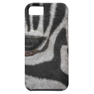 Capa Tough Para iPhone 5 Listras da zebra