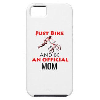 Capa Tough Para iPhone 5 mamã da motocicleta