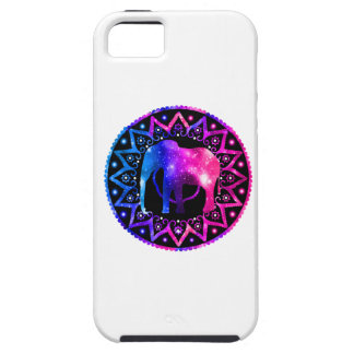 Capa Tough Para iPhone 5 Mandala do elefante