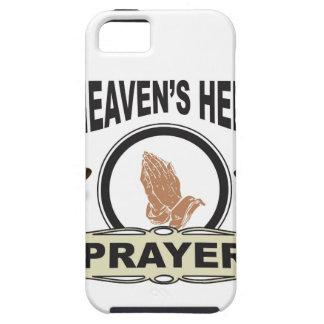 Capa Tough Para iPhone 5 mãos da ajuda e da oração