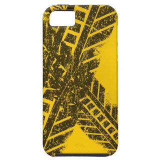 Capa Tough Para iPhone 5 Marcação de estrada preta afligida Grunge da