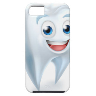 Capa Tough Para iPhone 5 Mascote dental do dente