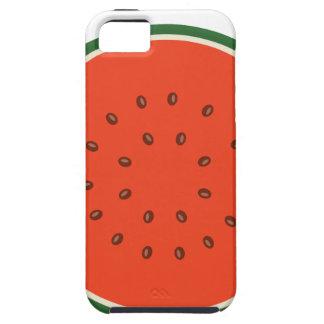 Capa Tough Para iPhone 5 melancia para dentro