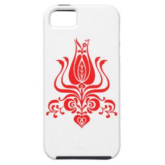 Capa Tough Para iPhone 5 Motivo floral do romanian.