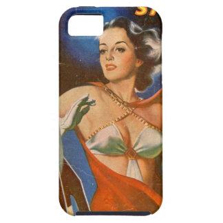 Capa Tough Para iPhone 5 Mulher de Rocket