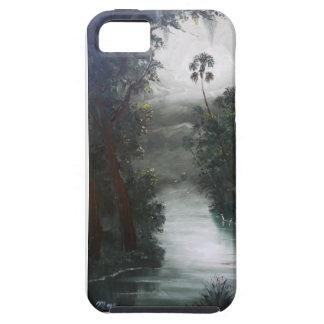 Capa Tough Para iPhone 5 Musgo enevoado do rio de Florida