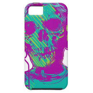Capa Tough Para iPhone 5 Música do zombi