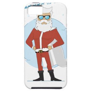 Capa Tough Para iPhone 5 Natal de Papai Noel