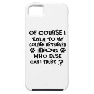 CAPA TOUGH PARA iPhone 5 NATURALMENTE EU FALO A MEU DESIGN DO CÃO DO GOLDEN