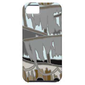 Capa Tough Para iPhone 5 Navio do fantasma
