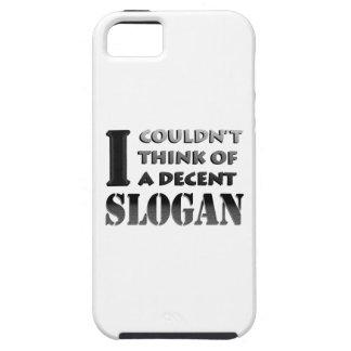 Capa Tough Para iPhone 5 Nenhum slogan. aceitável