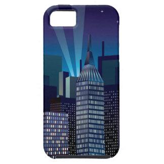 Capa Tough Para iPhone 5 NightCityScape_VectorDTL