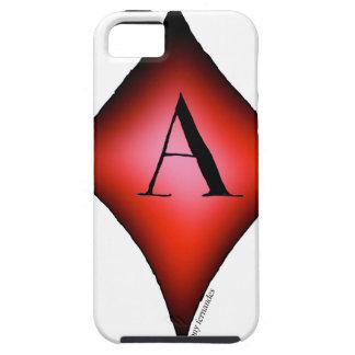 Capa Tough Para iPhone 5 O ás de diamantes por Tony Fernandes