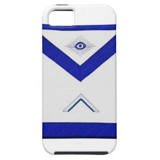 Capa Tough Para iPhone 5 O avental do mestre do Freemason