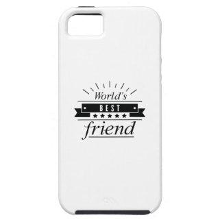 Capa Tough Para iPhone 5 O melhor amigo do mundo