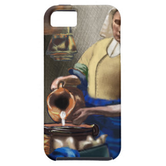 Capa Tough Para iPhone 5 O MilkMaid