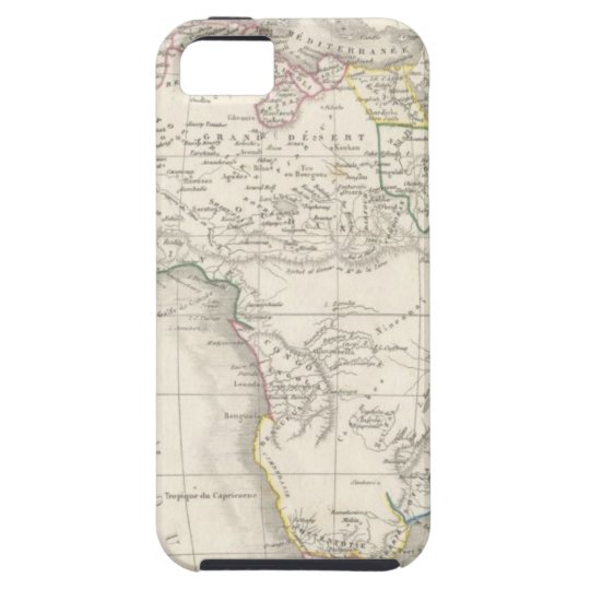 CAPA TOUGH PARA iPhone 5 OLD AFRICA MAPS