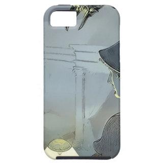 Capa Tough Para iPhone 5 Olhado pelo corvo