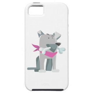 Capa Tough Para iPhone 5 Osso de cão de Hund Knochen
