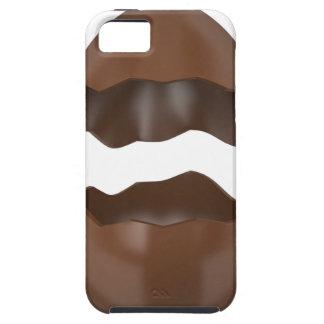 Capa Tough Para iPhone 5 Ovo de chocolate quebrado