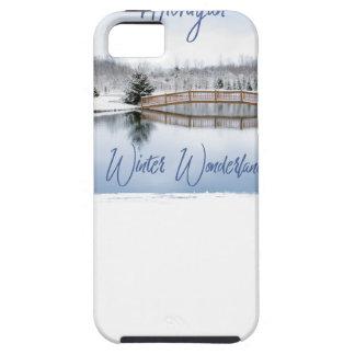 Capa Tough Para iPhone 5 País das maravilhas do inverno