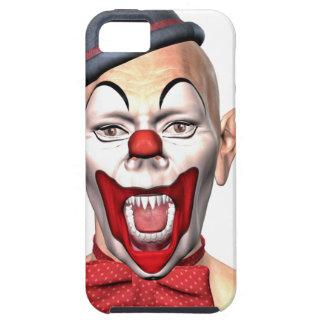 Capa Tough Para iPhone 5 Palhaço do assassino que olha à parte dianteira