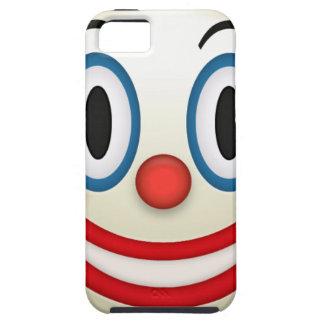 Capa Tough Para iPhone 5 Palhaço louco Emoji