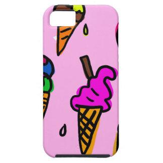 Capa Tough Para iPhone 5 Papel de parede do sorvete