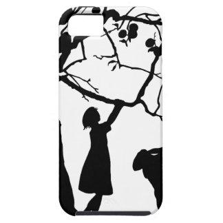 Capa Tough Para iPhone 5 Pares do amor