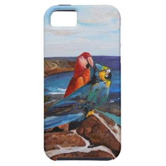 Capa Tough Para iPhone 5 Pássaros tropicais que negligenciam a baía