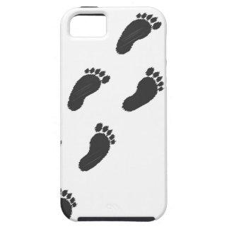 Capa Tough Para iPhone 5 Pegadas de Childs